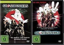 2 DVDs * GHOSTBUSTERS I + II  - DAN AYKROYD - BILL MURRAY # NEU OVP <