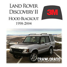 Land Rover Discovery 2 Hood Blackout Decal Sticker Disco II 1998 1999 2000 2001
