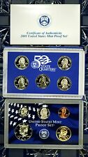 2001-s U.S. Proof Set. Complete and Original in BLUE  mint paper box
