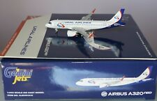 Gemini Jets GJSVR1910 Airbus A320-251neo URAL AIRLINES VP-BRX in 1:400 Scale