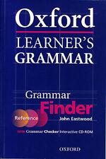 OXFORD LEARNER'S GRAMMAR Grammar Finder with CD-ROM / John Eastwood @NEW@