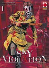 SKY VIOLATION volumi da 1 a 9 ed. planet manga completa dall'autore di AJIN