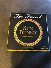 Too Faced - Sun Bunny Natural Bronzer. New, 0.35 oz. Full Size!
