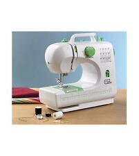EGL 12 Stitch SEWING MACHINE ELECTRIC FOOT PEDAL Green White Novice Start - NEW