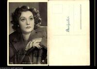 Zarah Leander Ross Verlag Autogrammkarte Original Signiert+81224