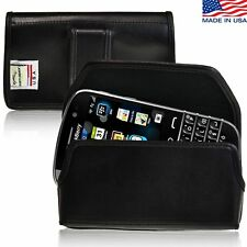 Blackberry Classic Holster Black Belt Clip Case Pouch Leather Turtleback