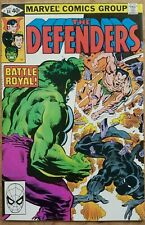 Defenders #84 Very High Grade NM- 9.2 White Pages Hulk Black Panther Namor!