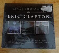 Eric Clapton - Masterworks 3 CD set - Canada! Sealed