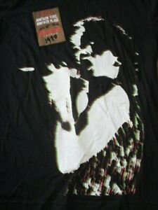 """1980 U2 """"Another Time Place Live at MARQUEE London Tour (LG) T-Shirt BONO EDGE"""