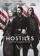 Hostiles,Very Good DVD, Ben Foster, Rosamund Pike, Wes Studi, Jesse Plemons, Ada