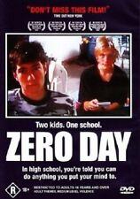 ZERO DAY – DVD, FICTIONAL FILM BASED ON THE COLUMBINE HIGH SCHOOL MASSACRE, RARE