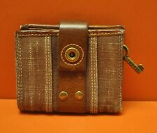 Fossil - What Vintage are You - Brown Leather Key Wallet Organizer
