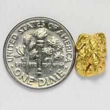 1.5687 Gram Alaska Natural Gold Nugget  ---  (#02749)