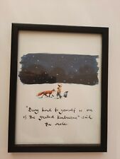 CHARLIE MACKESY FRAMED BOOK EXTRACT.  ' THE BOY, THE MOLE, THE FOX  & THE HORSE