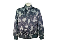 RIPNDIP grey and black camo zip jacket mens/womens size s