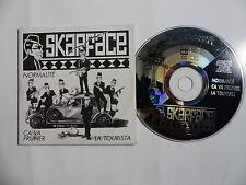 CD 3 titres Promo SKARFACE Normalité Ca va pruner Tourista cr07 NOCO