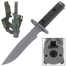 Close Quarters Combat Ready Tactical Hunting Bayonet Survival Knife