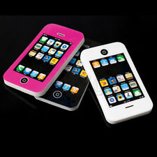 2pc Mobile Phone Shaped Rubber Pencil Eraser Students Stationery Kid Gift Toy CG