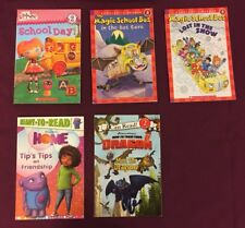 Level 2 Magic School Bus, Home, How to Train Dragon, Lalaloopsy Lot of 5
