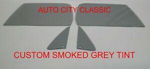 81 - 89 Chevy GMC Pickup Glass Vents Doors C10 K10 K5 Blazer Suburb Custom Grey