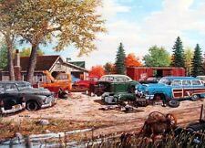 "Ken Zylla  Junkyard Relics Art Print  11"" x 8"""