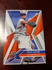 New listing 2008 Upper Deck X Memorabilia Johan Santana #UDXM-SA