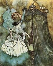 Art by Dulac Beauty and the Beast Home Decor wall hangings poster print 10x8