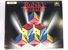 Matchbox Rubiks Triamid, 1990 COMPLETE with box