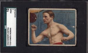 1910 T219 Miner's Extra Owen Moran Boxing SGC 10 *681933