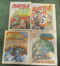 4 x Battle Picture Weekly May 75 Sept 76 Feb 77 (+ Valiant), Oct 78 (+ Action)