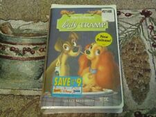 ~NEW SEALED~WALT DISNEY'S MASTERPIECE COLLECTION~LADY AND THE TRAMP~VHS~#14673~