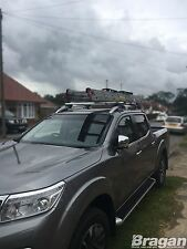 To Fit 2016+ Nissan Navara NP300 Roof Rails Locking Cross Bars + T Track Pieces
