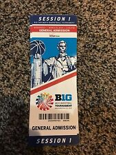 2017 BIG TEN TOURNAMENT TICKET STUB SESSION 1 BASKETBALL OHIO STATE RUTGERS