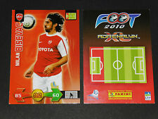 BISEVAC VALENCIENNES ANZIN USVA FOOTBALL FOOT ADRENALYN CARD PANINI 2009-2010