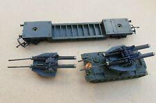 More details for vintage triang battle space r568 assault tank and transporter