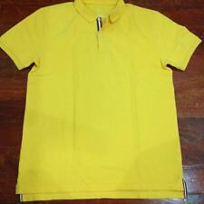 Used Giordano Polo Shirt size Large Yellow