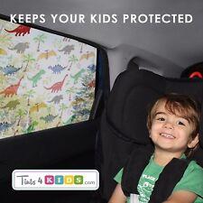DINOSAURS Car Window Sun Shade Tint for Kids-UV Heat Glare Protection. Baby Gift