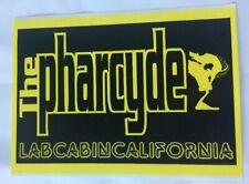 Actual Vintage 1995 The Pharcyde Labcabincalifornia Sticker 6.5x9.5in RARE