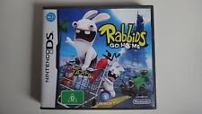Rabbids Go Home - Nintendo DS - fast free post (rayman raving)