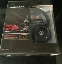 Audio-technica Ath-ws55 Solid Bass Black Headphones