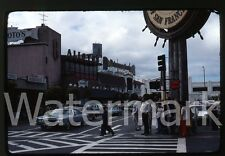 1976  kodachrome Photo slide  San Francisco CA Alioto's cadillac car Fisherman's