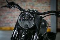 """LED SCHEINWERFER 7"""" mit Zulassung Harley FAT Boy Low Special Slim  BSB Customs"""