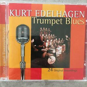 KURT EDELHAGEN: Trumpet Blues - 24 Original Recordings (CH CD Elite 73462 / neu)