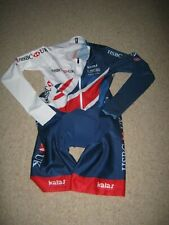SKIN SUIT TEAM GB BRITISH CYCLING L/S KALAS [2/S] EX TEAM ISSUE: NEW