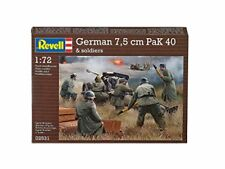 Revell 02531 German Pak 40 With Soldiers