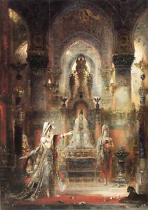 Salome Dancing before Herod Gustave Moreau  Art A0 A1 A2 A3 A4 Photo Poster