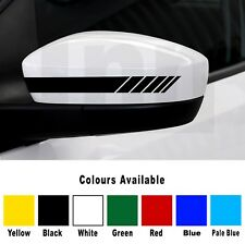 BMW E90 E91 E92 3 Series M Performance Style Mirror Sticker Decal Vinyl Livery