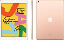 "Apple iPad 10.2"" 128GB 7th Gen Gold Wifi MW792HC/A Unlocked"