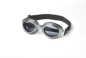 Doggles Sidecar Dog Goggles Dog Sunglasses Chrome or Copper