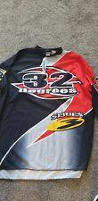 Vintage Rare Og 32 Degrees Paintball Jersey Shirt Xxl Jt Old School Red Black